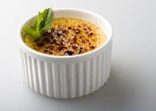 Crème brulée Photo stock