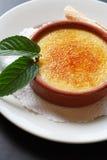 Crème brulée Photos libres de droits