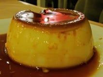 Crème caramel Fotografia Stock Libera da Diritti