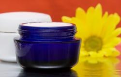 Crème d'hydratation de produit de beauté Photographie stock libre de droits