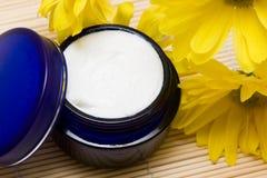 Crème d'hydratation de produit de beauté Photographie stock