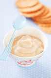 Crème de caramel Image libre de droits