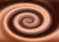 Crème de chocolat Photos libres de droits