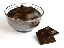 Crème de chocolat Photo libre de droits