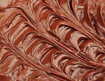 Crème de chocolat Photographie stock libre de droits