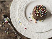 Crème de chocolat Images libres de droits