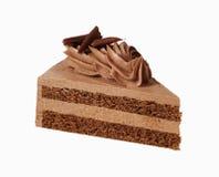 crème de chocolat de gâteau Photos libres de droits