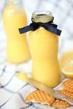 Crème de citron Photographie stock libre de droits