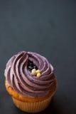 Crème de désert de petit gâteau Photo stock