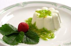 Crème de kiwi Images libres de droits
