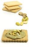 Crème de pistache Images libres de droits