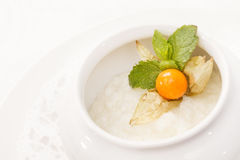 Crème de riz image stock