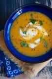 Crème de soupe à courge Photo stock