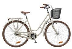Crème de vélo de ville Images libres de droits
