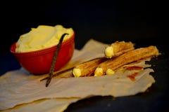 Crème de vanille Photo libre de droits