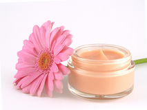 Crème de visage Photographie stock libre de droits