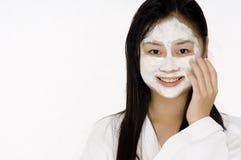 Crème de visage images stock