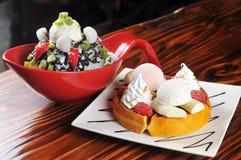 Crème glacée  Images libres de droits