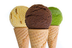 Crème glacée  Image stock