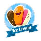 Crème glacée  Image libre de droits