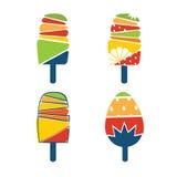 crème glacée cartoonish Images stock
