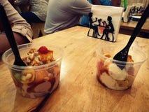 Crème glacée délicieuse images stock