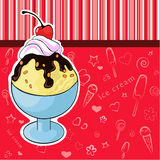 Crème glacée délicieuse Photos libres de droits