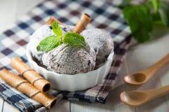 Crème glacée d'Oreo images libres de droits