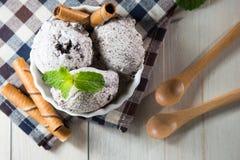 Crème glacée d'Oreo photographie stock