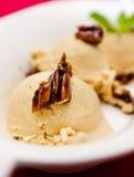 Crème glacée de caramel Photos libres de droits