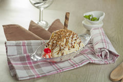 Crème glacée de nouille Photographie stock libre de droits
