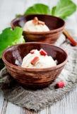 Crème glacée faite maison photos stock