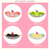 Crème glacée grande tasse Photo stock