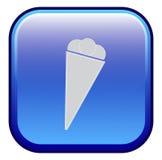Crème glacée - icône de vecteur Image libre de droits