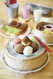 Crème glacée mélangée Photos stock