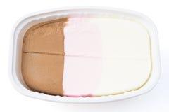 Crème glacée multicolore Images stock