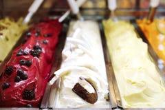 Crème glacée savoureuse douce de fruit Image stock