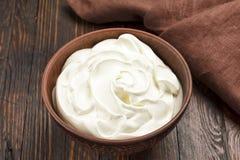 Crème sure image stock