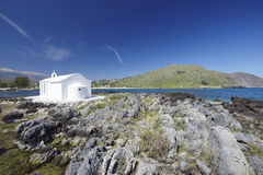 Crète, église, Grèce photo stock