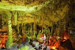 CRÈTE, GRÈCE 21 JUILLET : La caverne de Zeus en juillet 21,2014 sur l'île de Crète en Grèce Images stock