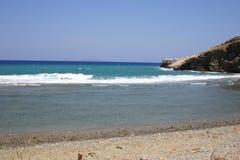 Crète/nord-est Photo libre de droits