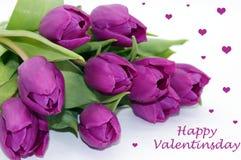 Créateur libre de Saint-Valentin de tir heureux de fleur photo stock