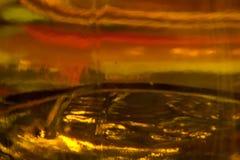 Création artistique pour montrer le coucher du soleil Photographie stock