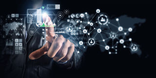 Création des technologies du sans fil Photo stock