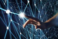 Création des technologies pour la connexion Media mélangé Images stock