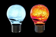 Créativité Brain Concept illustration de vecteur