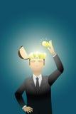 Créativité d'affaires illustration stock