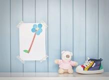 Créativité d'enfant Photos stock