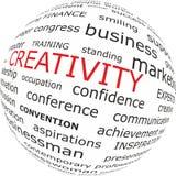 Créativité dans les affaires Photographie stock libre de droits