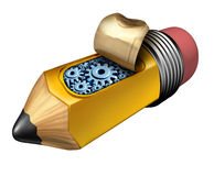 Créativité intérieure illustration libre de droits